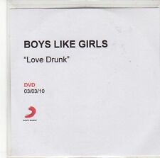 (ED646) Boys Like Girls, Love Drunk - 2010 DJ DVD