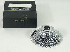 Shimano XT M737 Cassette M737 8 Speed 11-28 Vintage Mountain Bike Racing NOS