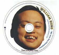 WILLIAM HUNG * AMERICAN IDOL * NEW CD PICTURE DISC * QUEEN  WE ARE THE CHAMPIONS