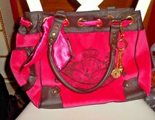 Juicy couture hot pink velour Day Dreamer handbag