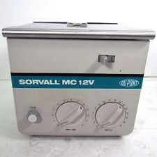 Sorvall DuPont MC-12V Benchtop 12000RPM Variable Laboratory Centrifuge F-12/M.18