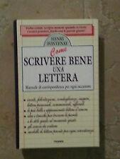 Henri Fontenay - Come Scrivere Bene Una Lettera - Piemme - 1999