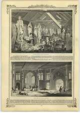 1844 Statuary Room, New Houses Of Parliament, Witness Room