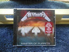 METALLICA-MASTER OF PUPPETS-BLACKENED 1986 RECORDING! BRAND NEW/SEALED CD!