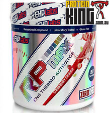 EHP LABS RP MAX 325G STRAWBERRY DAIQUIRI PRE WORKOUT CNS THERMO ACTIVATOR RPMAX