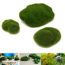 3X Java Moss Balls Marimo Cladophora Artifical Aquarium Plants Bonsai Decor