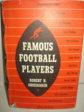 Famous Football Players By Robert - Second Printing - Hardcover w/jacket