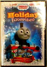 Thomas & Friends: Holiday Favorites (DVD, 2011, 3-Disc Set) Sealed Great Gift!