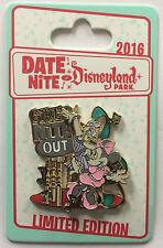 Disneyland Park 2016 DATE NITE Minnie & Daisy Girls Nite Out Slider LE Pin