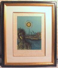litho de Jean Carzou 1907-2000 signé et daté 76 exemplaire n°158/175