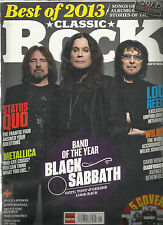 CLASSIC ROCK MAGAZINE,  BEST OF 2013 THE YEAR IN REVIEW  JANUARY, 2014  NO.192