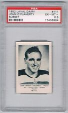 1952 Laval Dairy Subset Hockey Card Ottawa #111 John O'Flaherty Graded PSA 6.5