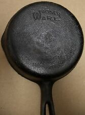 """Cast Iron Wagner Ware 6 1/2"""" Skillet, double pour"""