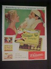 OLD WHITMAN'S CANDIES ~CHOCOLATES CANDY PRINT AD~ ORIGINAL VINTAGE ANTIQUE 1958