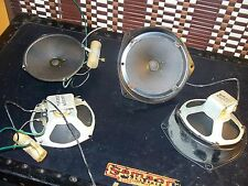 Vintage Number Matching Set of 4 Magnavox 232 Speakers from Tube Console