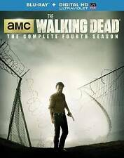 The Walking Dead: Season 4 [Blu-ray + Digital HD Ultraviolet Copy], Very Good DV