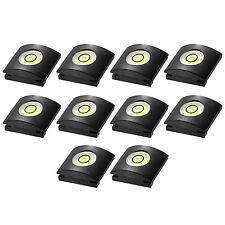 Neewer 10PCS Camera Flashlight Hot Shoe Cover with Bubble Spirit Level for Canon