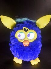Hasbro Furby BOOM Talking Electronic Toy 2012 Blue and Yellow Color EUC