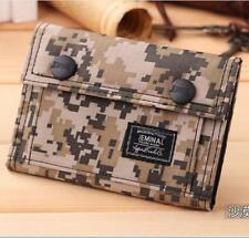 Mens Wallet Military Camouflage Bag Nylon Waterproof Cards Bifold Purse Coin Bag