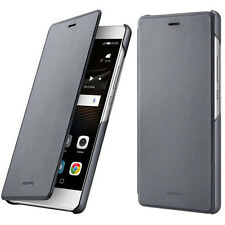 Official Genuine Huawei P9 Lite Dark Grey Flip Case Cover - 51991527