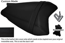BLACK STITCH CUSTOM FITS BENELLI TORNADO 900 TRE REAR LEATHER SEAT COVER