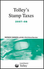 Tolleys Stamp Taxes 2007-08 (Tolleys Tax Planning),VERYGOOD Book