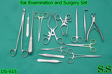 Ear Examination and Surgery Kit Surgical Instruments,DS-615