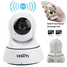 Wireless WIFI Pan Tilt 720P HD Network Security IP Camera IR Night Vision Webcam