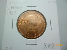 Great Britain half penny coin 1967