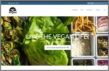 "Fully Stocked Dropshipping VEGAN HEALTH FOODS Website Business. ""300 Hits A Day"""