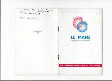 JAGUAR C TYPE LE MANS 1951 VICTORY Publicity Brochure