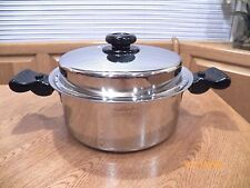 SALADMASTER 5 QT QUART 316Ti TITANIUM STAINLESS STOCK POT & LID USA
