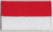 Indonesia Country Flag Embroidered Patch T4