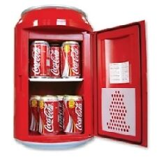 PORTABLE MINI FRIDGE CAR REFRIGERATOR HOME CAN SHAPE COOLER WARMER FOOD DRINK
