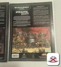 Warhammer 40k Apocalypse & Reload Rule Book Set Games Workshop  excellent