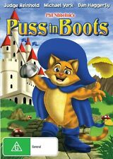 PUSS IN BOOTS - JUDGE REINHOLD & MICHAEL YORK - CLASSIC! - NEW & SEALED DVD