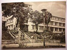 Antique Bulgarian Postcard Varna Golden Sands Hotel Siren 1960