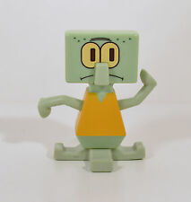 """2009 Squidward Truth Or Square Spongebob 3.25"""" Burger King Meal Action Figure"""