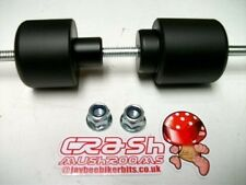 DUCATI Multistrada 1200 1200S CRASH MUSHROOMS  FRONT AXLE SLIDERS BOBBINS    S2L
