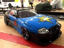PANDORA 1/10 RC TOYOTA SUPRA JZA80 198mm Clear Body Drift Hashiriya
