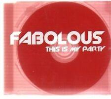 (AV680) Fabolous, This is My Party - DJ CD