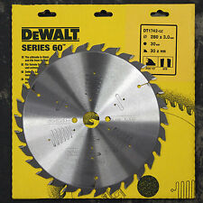 DEWALT DT1742 SERIES 60  280MM CIRCULAR SAW BLADE 280 x 30 30T  ATB  POS 10°