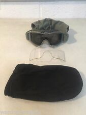 Revision Desert Locust Foliage Ballistic Goggles w/ Clear and Smoke Lens & Pouch