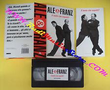 BOX film VHS cartonata+LIBRO Ale e franz E' TANTO CHE ASPETTI? (F104) no dvd