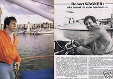 Coupure de presse Clipping 1978 Robert Wagner  (2 pages)