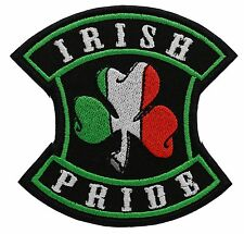 IRISH PRIDE embroidered PATCH
