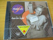 PEGGY LEE TRAV'LIN LIGHT  CD SIGILLATO  CAPITOL