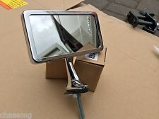 Mg TD interior mirror , dash mounted desmo inscripted bay18-b
