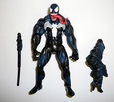 "SPIDER-MAN TOXIC BLAST VENOM Hasbro Action Figure 4.5"" Tongue Variant 2010"
