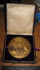 Massive World War I Recognition Medal 1919 Robert Birkhead Orange County In Case